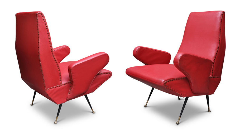 Delfino vintage chairs by Nino Zoncada