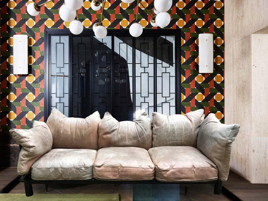 divano vintage poltronova de pas d urbino lomazzi
