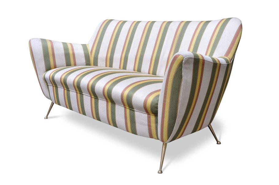 divano vintage anni '50 gio ponti