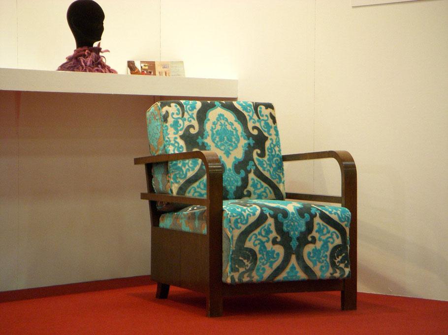 polotrona art deco anni 30 atelier caruso