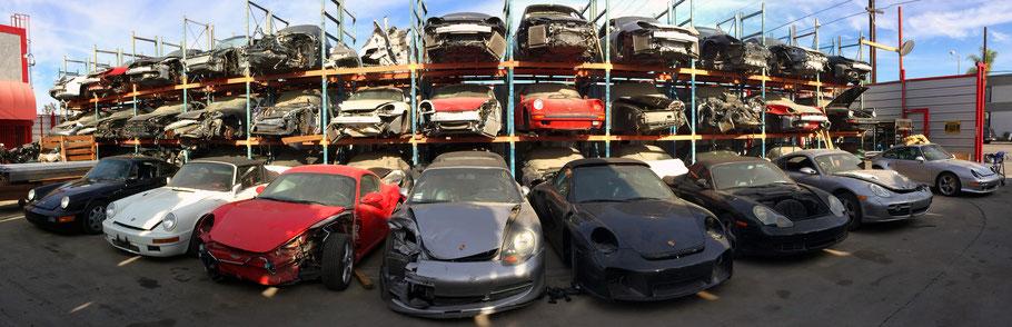 Gebrauchte Porsche Ersatzteile 911, 964, 993, Turbo, Boxster, Cayman