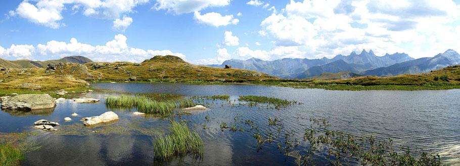 Lac Guichard en été