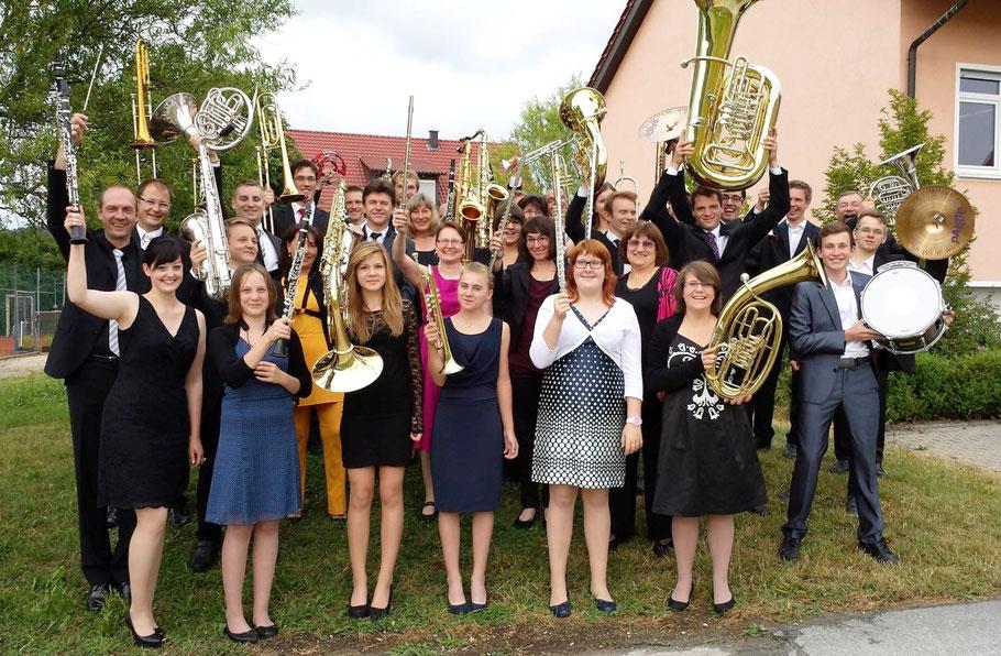 Unser Orchester im Jahr 2014