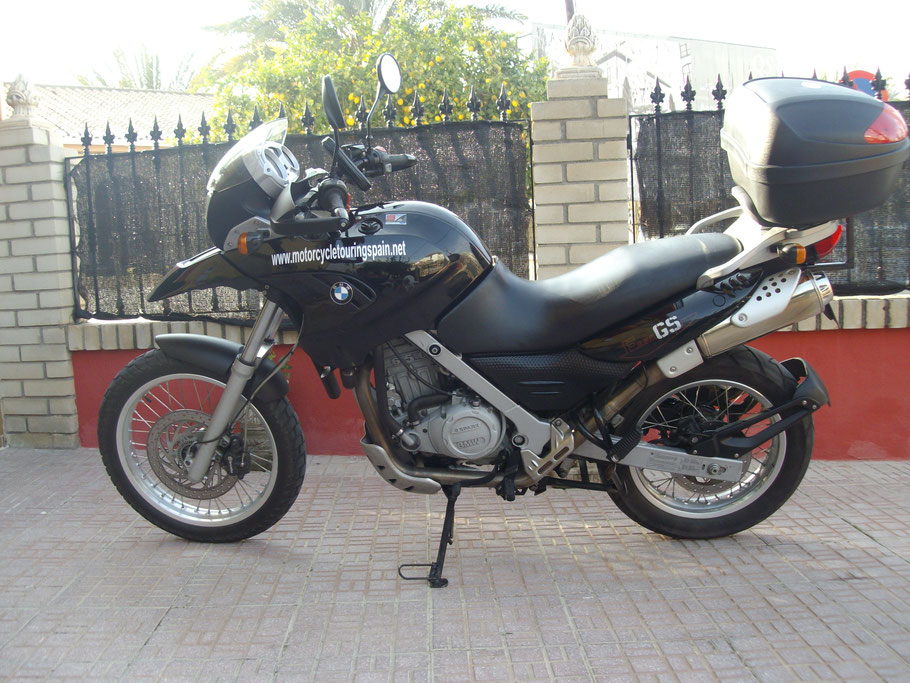 F650 GS Low seat