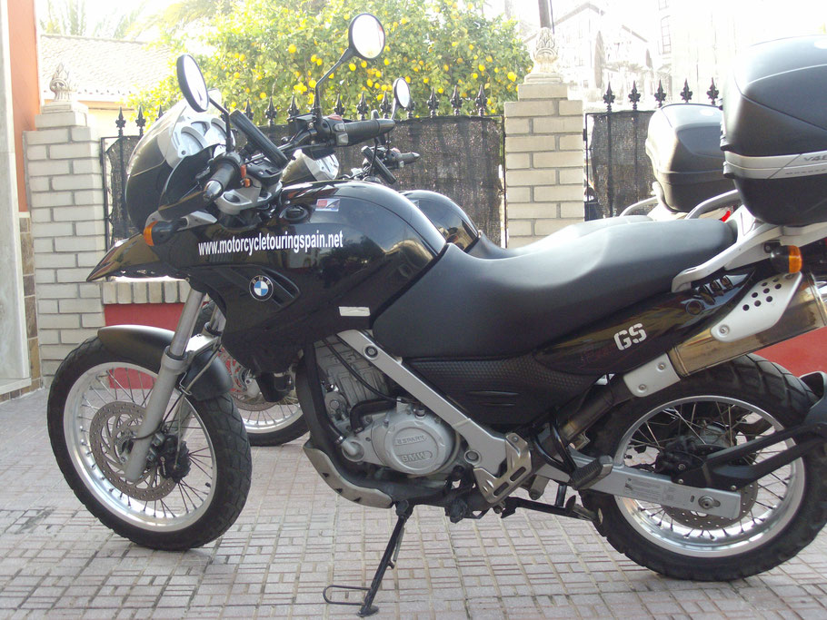 F650GS Normal seat