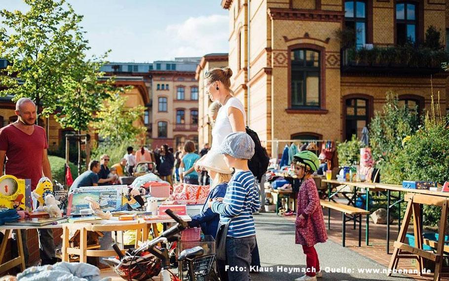 1 Mannheimer Hofflohmarkt Stoffe Nähkurse Nähmaschinen Und