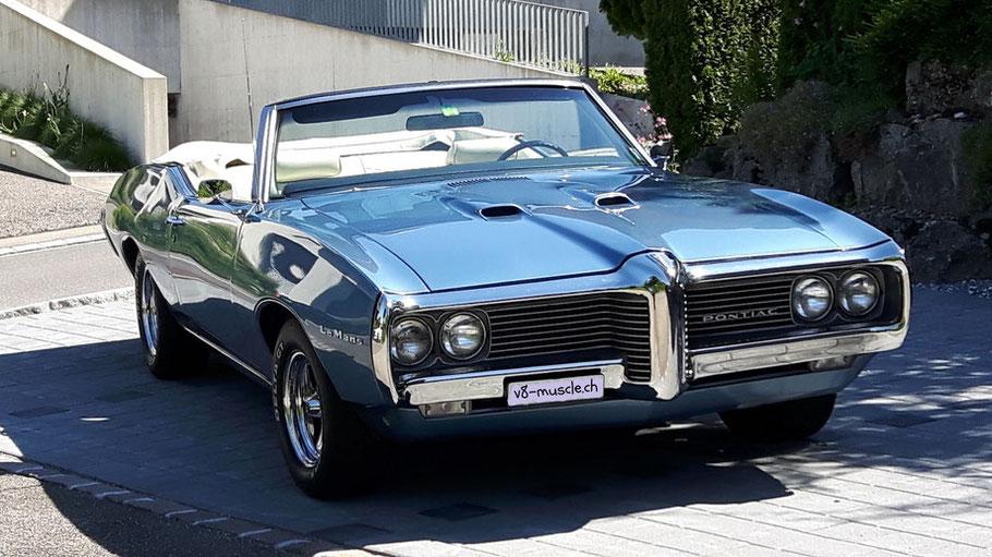 1969 Pontiac Le Mans Convertible
