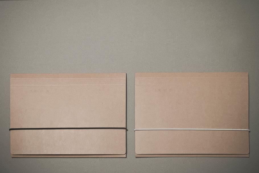 [ Trace ] Carpetas que contienen los gofrados y sus respectivos dibujos. Detalle.