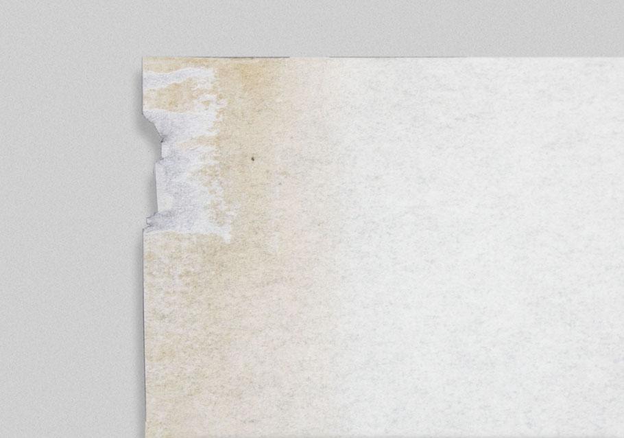 [ Cometa y reproducción ] Detalle del papel empleado al volar la cometa.