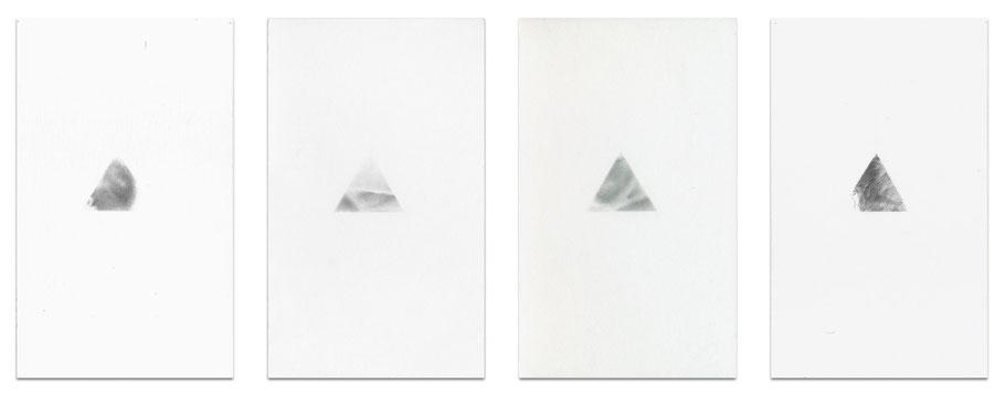 [ Beacons ]  Grafito sobre papel. (21 x 13 cm c/u. Detalle)