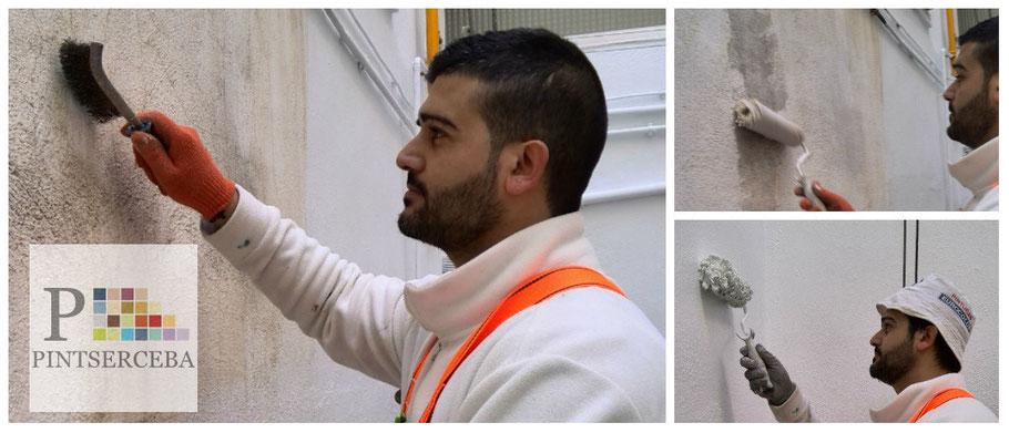 Realizamos una amplia variedad de trabajos en el ámbito del mantenimiento y la restauración de fachadas.