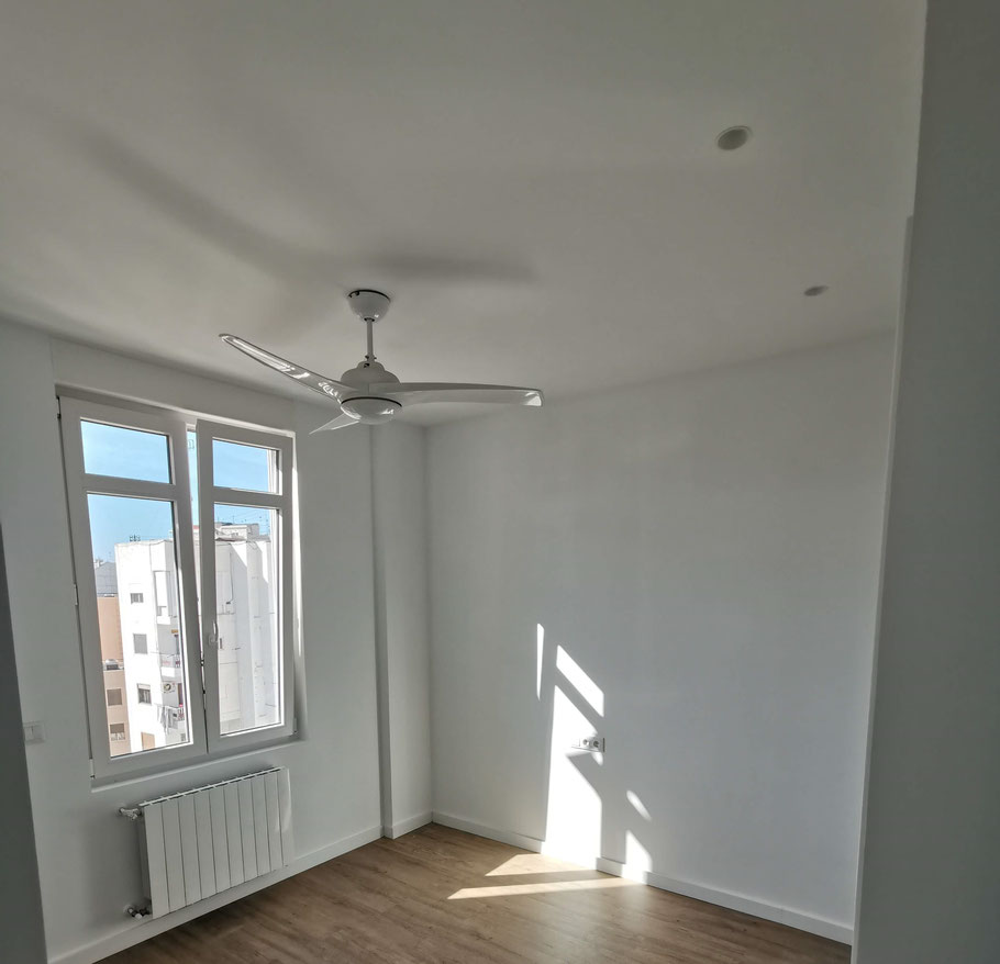 habitación en blanco