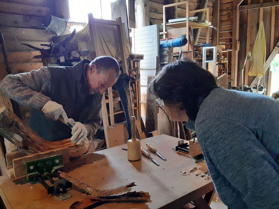 Atelier Rainer Baer- Bildhauerkurse