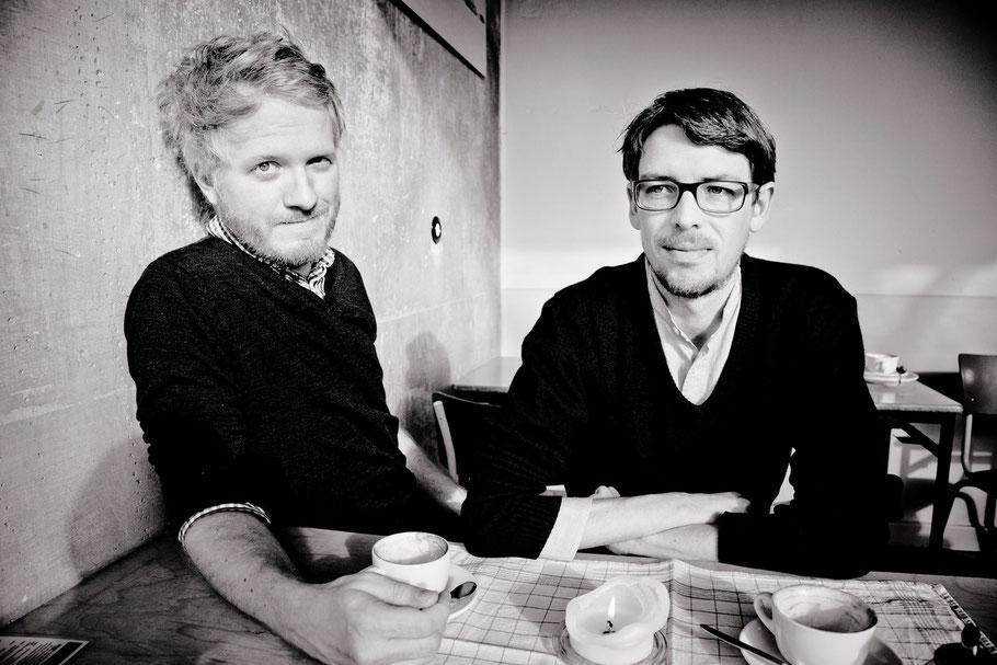 Daniel Beskos & Peter Reichenbah (Foto: Andreas Hornoff)