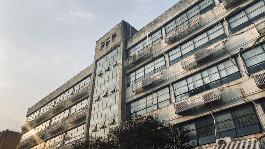 Ehemaliges Industriegebäude im OCT Loft