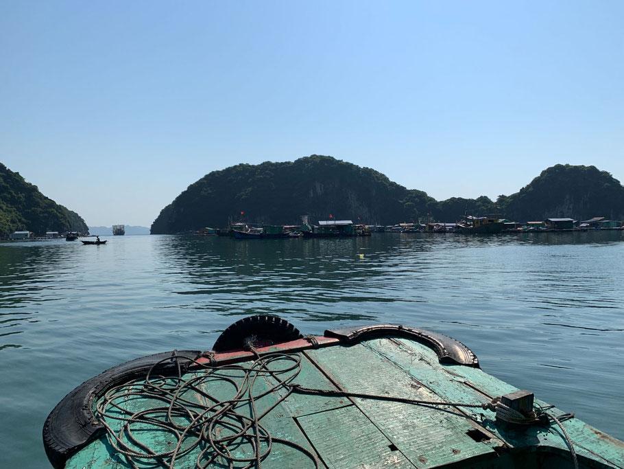 Shuttleservice von Cát Bà zur Van Boi Ecolux Island