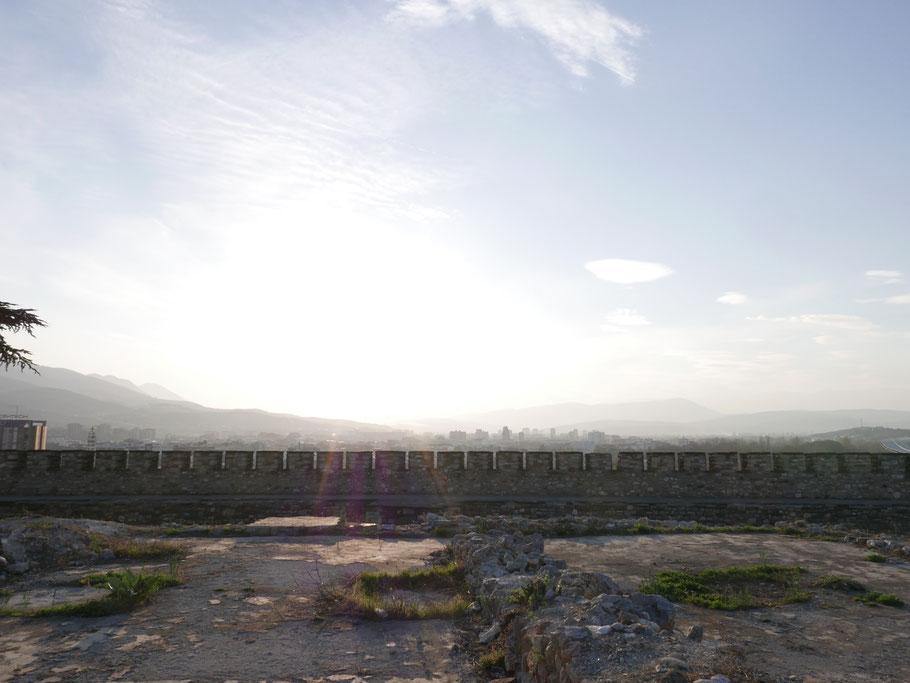 Blick vom Fortress Kale