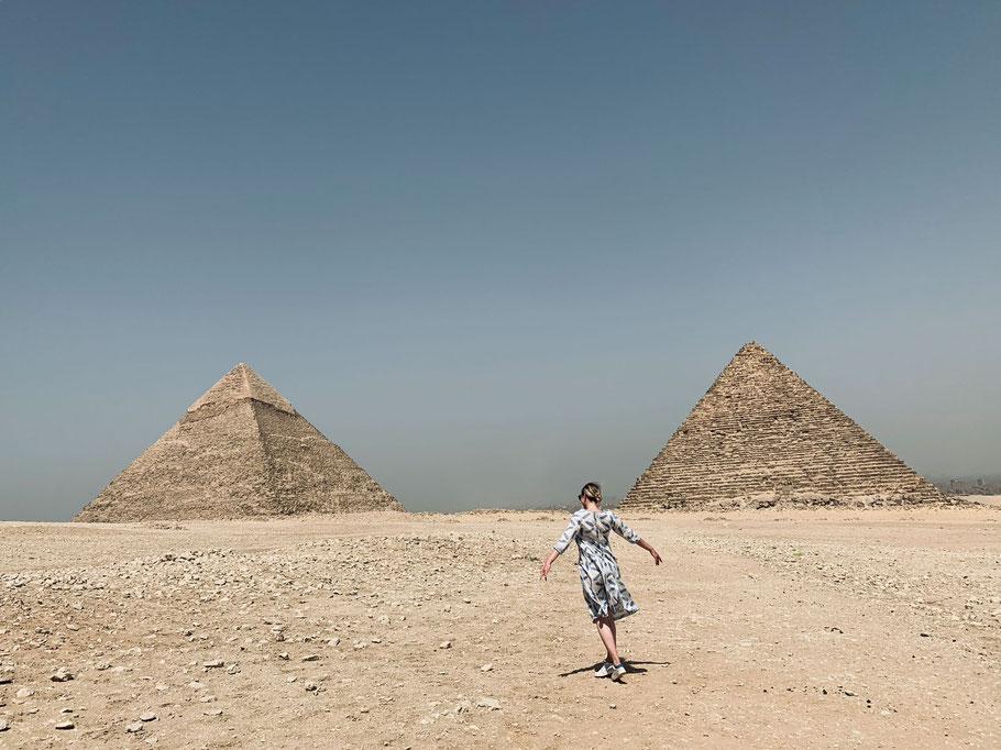 Abstecher an die Pyramiden von Gizeh