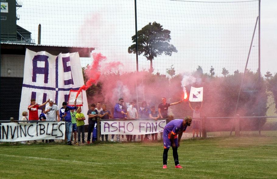 Bravo aux supporters d'Hautvillers qui ont encouragé leur équipe tout au long de la rencontre