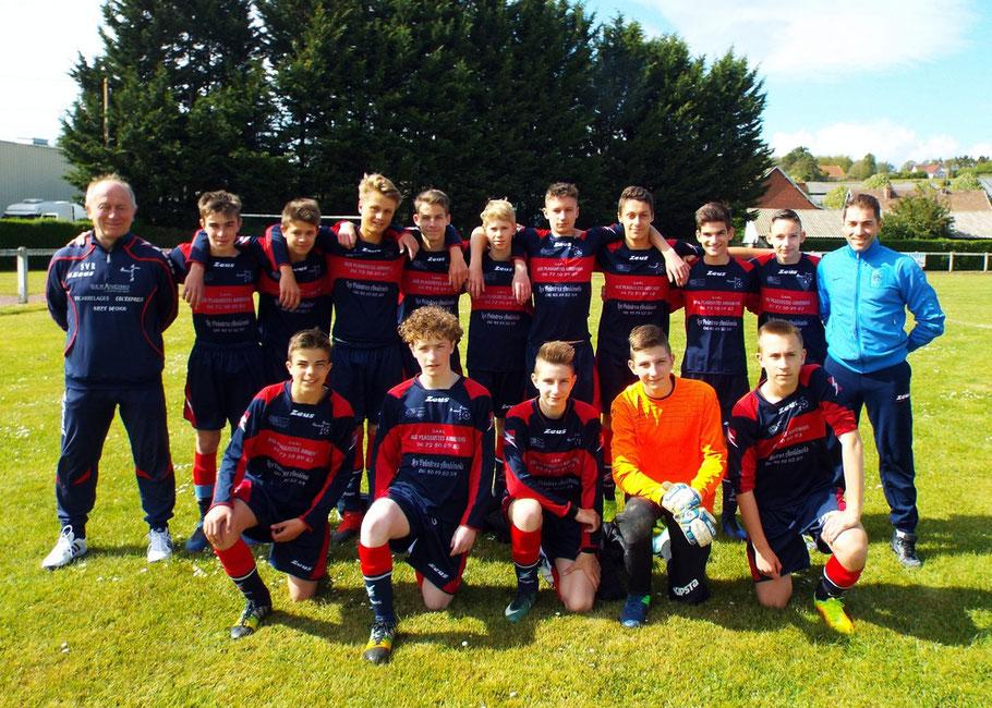 L'équipe U15 qualifiée pour la demi-finale de la coupe de la Somme