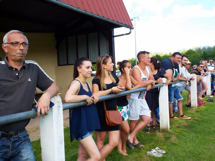 Près de 100 personnes à Allery pour le match de la montée de l'équipe réserve