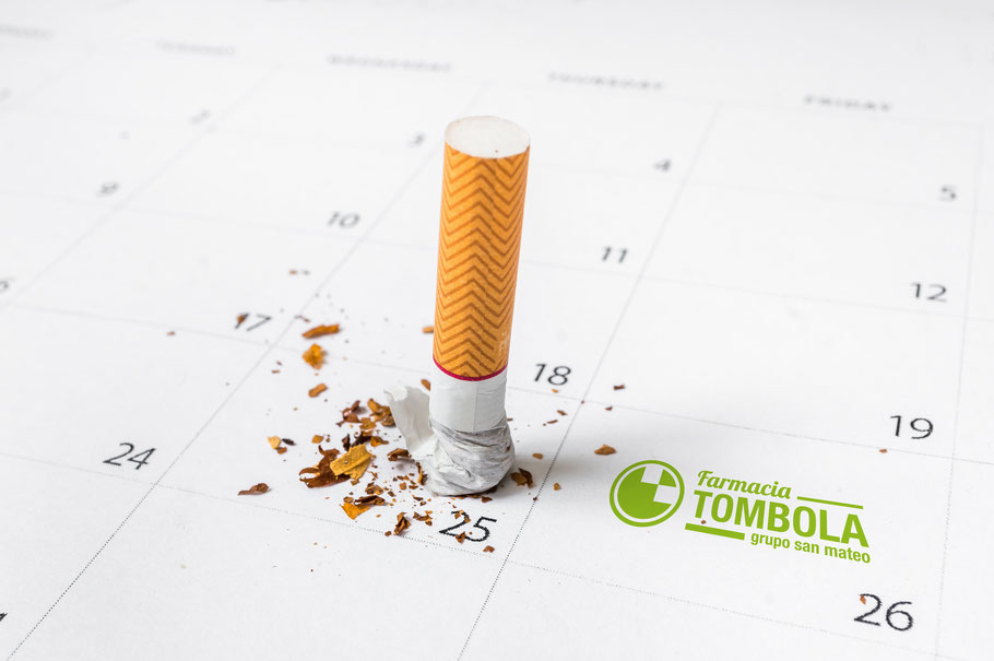 Dejar de fumar y volver a respirar - Farmacia Tómbola Alicante