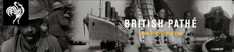British pathé Archiv - per Mausklick durch das 20. Jahrhundert (große Filmsammlung auf youtube)
