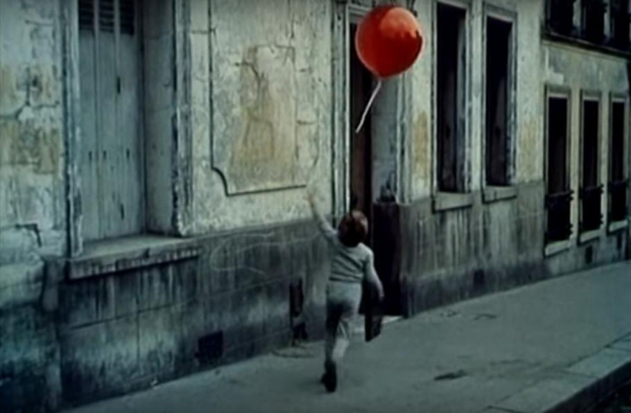 le ballon rouge; picture from the movie by Lamorisse 1956