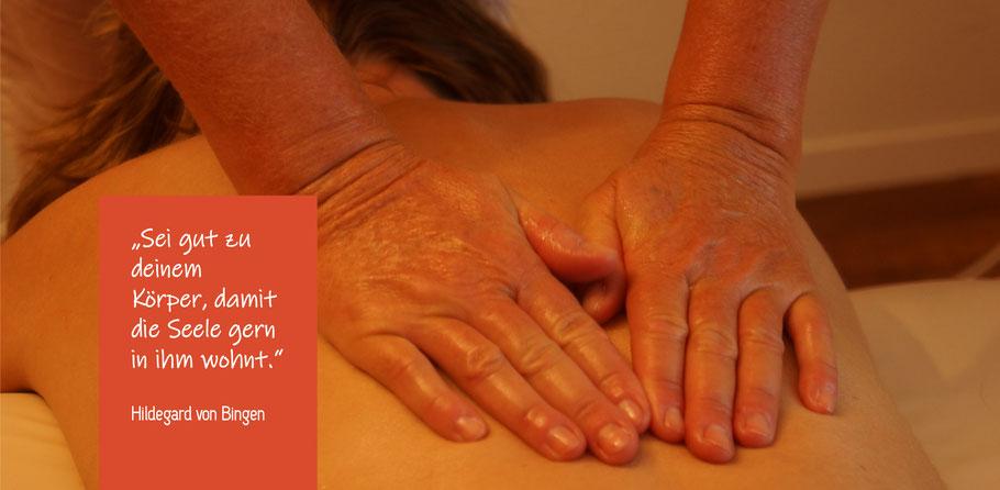 Praxis Panta Rhei / Jeanette Grob Stöckli / Massage