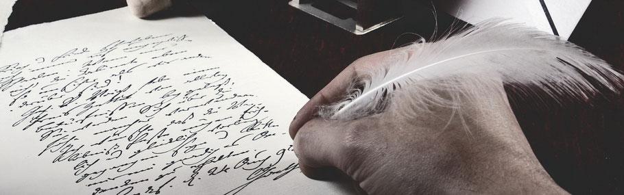 Schreiben, Gästebuch, Feder, Tinte, Briefpapier, Poesie, Brief