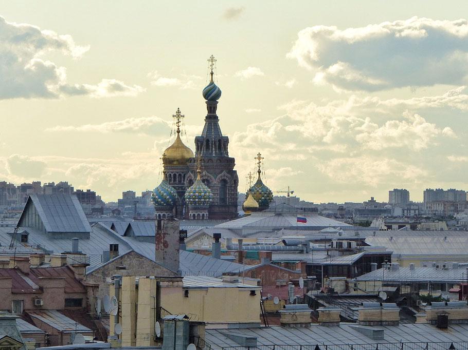 Über den Dächern von St. Petersburg, Rooftop-Tour