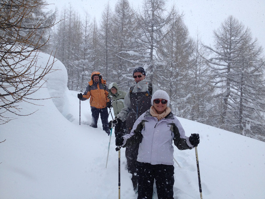 Schneeschuhtouren im Wallis