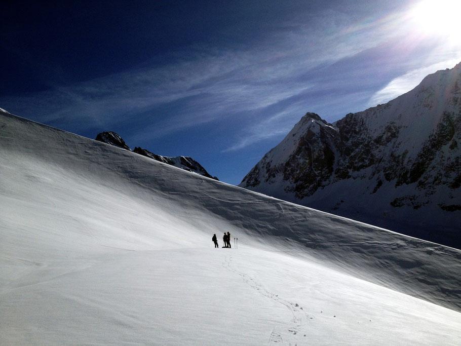 Schneeschuhtouren Lötschental