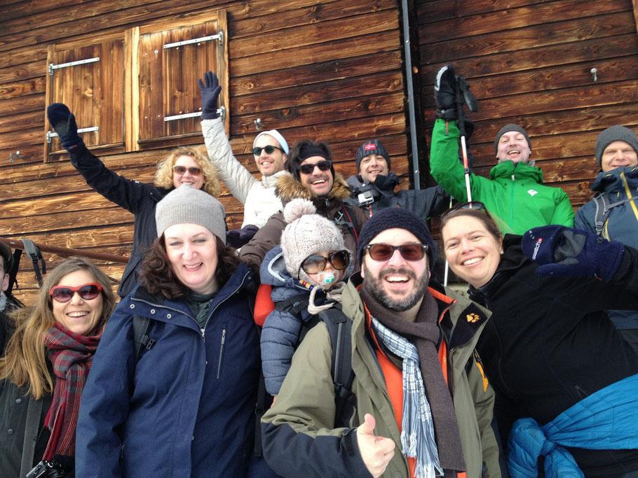 Schneeschuhtour Lötschental