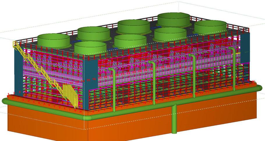 fabricacion torres de enfriamiento
