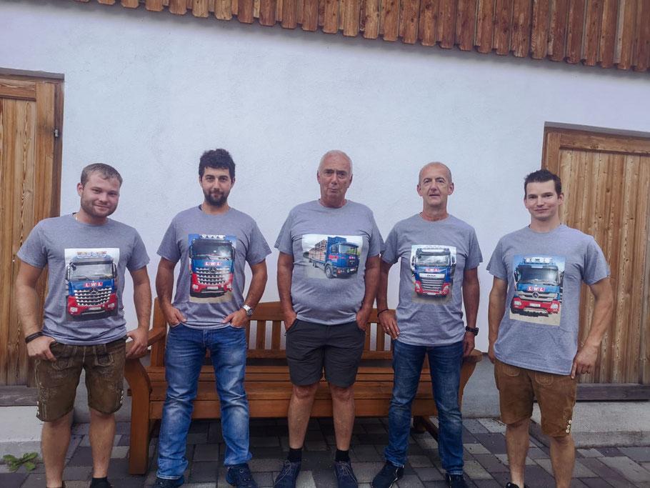 Team Mitarbeiter Lichtenwöhrer Logistik