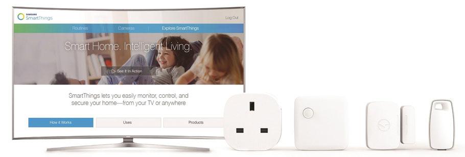 Verschiedene Home Automation Produkte