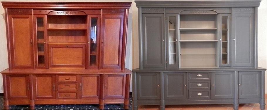 Relooking mobilier - nouvelles poignées qui modernisent le meuble