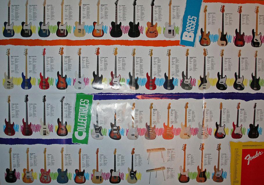 Reissue-Programm von Fender Japan, Teil 2