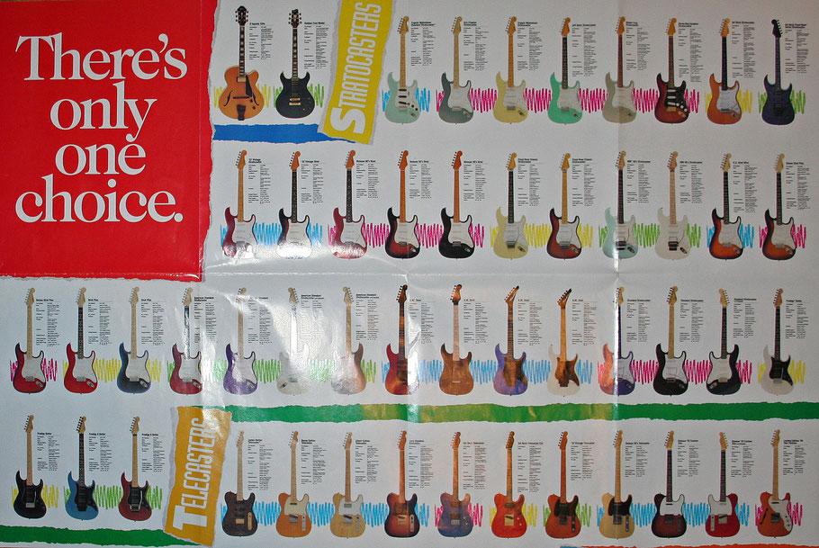 Reissue-Programm von Fender Japan, Teil 1