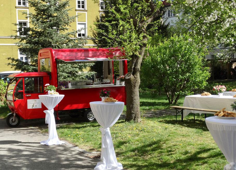 Gartenfest, Stadteilfest, private Feier, Ihr privater Biergarten....