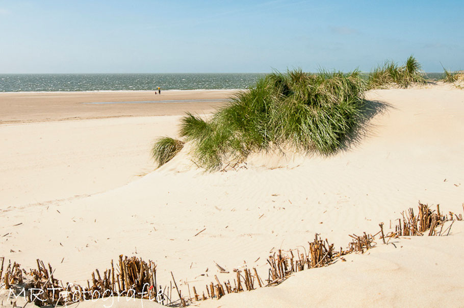Eindeloze witte stranden aan de Zeeuwse kust. Renesse