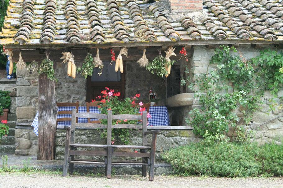 Fattoria La Vialla in Castigliono, Toscane