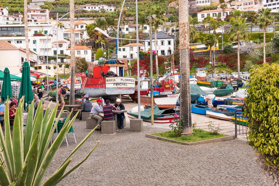 Haventje Câmara de Lobos, Madeira