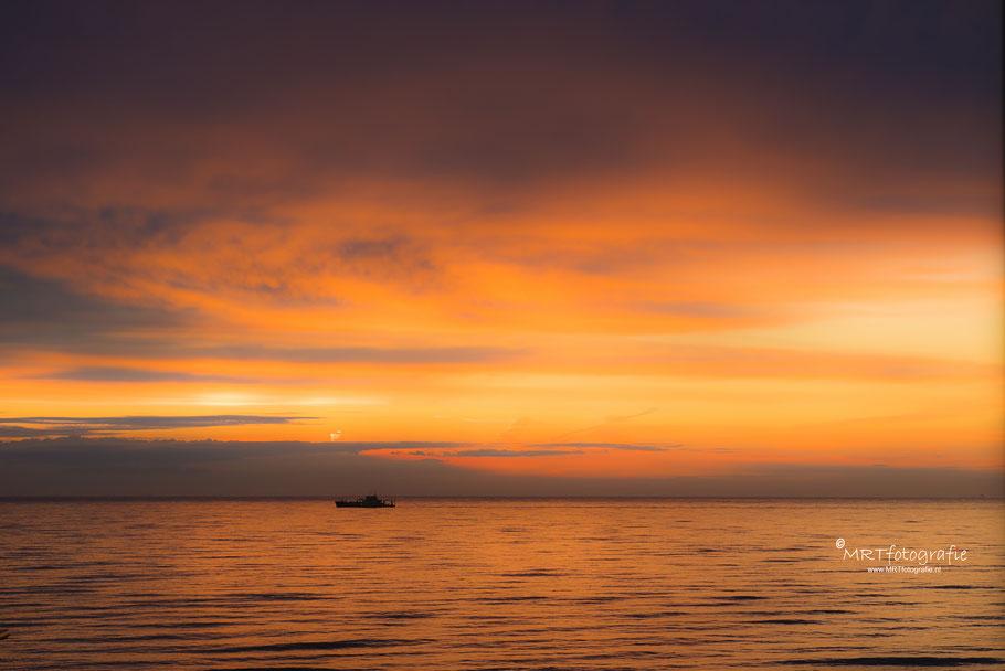 Zonsondergang bij Bloemendaal