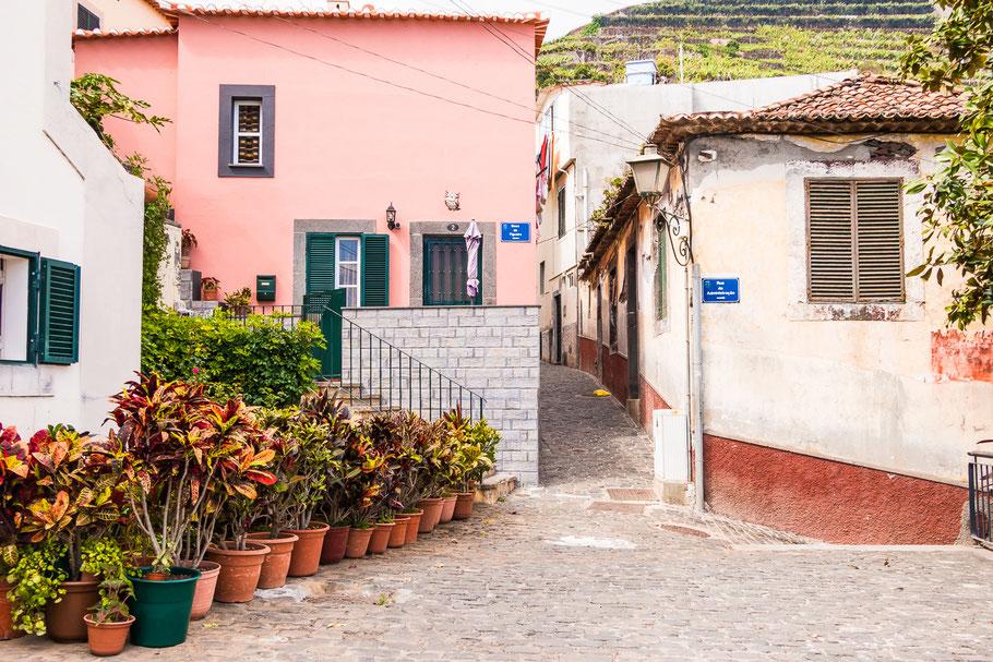 Het dorp Camara de Lobos, Madeira