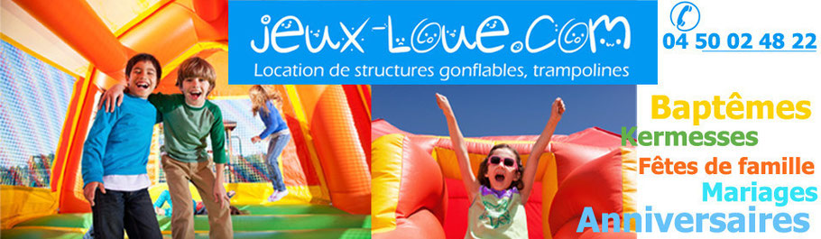 Location Chateaux Gonflables