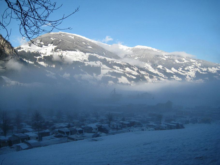Mayrhofen Österreich 30.12.2011 - 10.01.2012