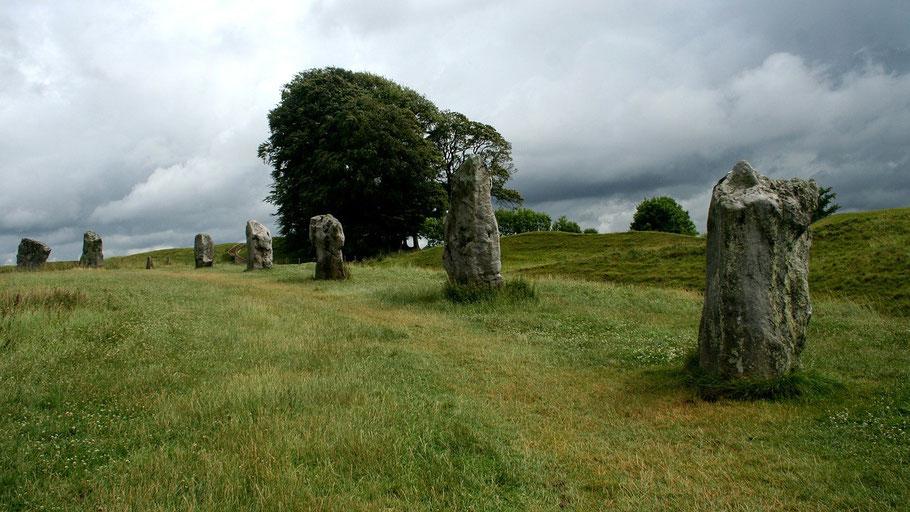 """Steinkreis Avebury, weitere Fotos aus England finden Sie in unserer Rubrik """"Fotos & Videos"""""""