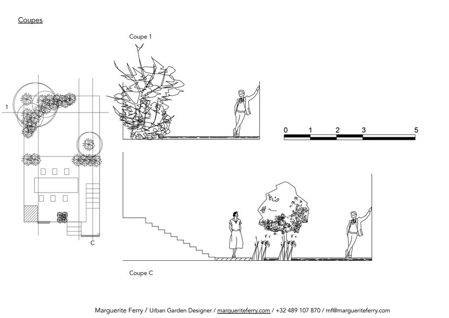 Amenagement jardin paysager - Marguerite Ferry - Urban Garden Designer - Bruxelles - Blog Jardin Belgique